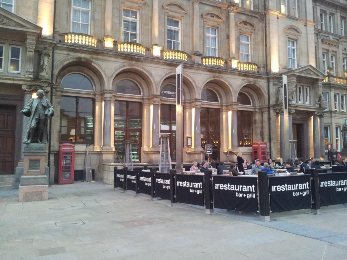 The restaurant bar grill leeds beer quest - Restaurant bar and grill ...