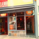 Wax Bar shares its frontage with the more famous Sela downstairs.