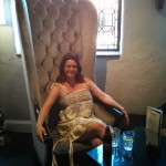 I shrunk Emily for this picture. Or is the chair really that massive?