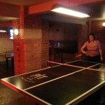 In addition to my many skills, I'm actually pretty good at ping pong. (No really!)