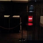One of the VIP booths. For the celebrities and Leeds's most glamorous socialites.