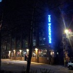 Look for the 30-foot neon sign.