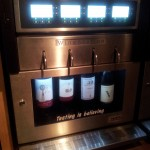 And the first time in our lives we'd seen a self-service wine dispenser!