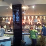 """The bright lights flashing """"VODKA"""" didn't distract us from the fact that there is NO GOOD BEER HERE."""