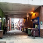 The miserable entrance to Swan Street isn't reflective of what's within.