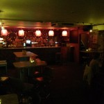 More red lanterns at the bar! (Oh, and a lot of good beer!)