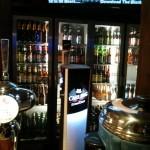 One of several beer fridges. Lots of beers!