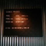 Clever pricing scheme for beer pong.
