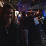 That's me and the main bar area.