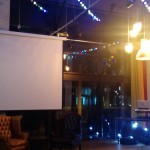 Want to show off your PowerPoint in a bar? Dock 29 has you covered.