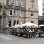 A nice big beer garden in beautiful City Square will be the main draw.