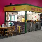 Mobile no more: Manjit's settles into a corner of the market.